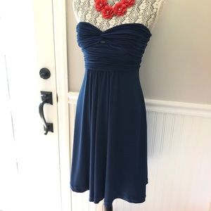 Laundry By Shelli Segal Dresses - Laundry Blue strapless sz 4 cocktail dress